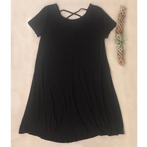 Mossimo Black Knit Dress sz M